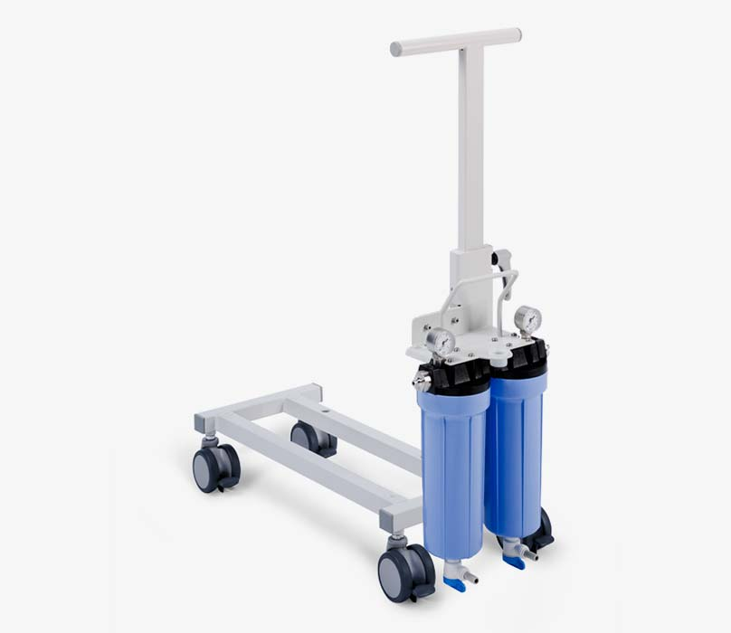 Porter S mit Doppel-Vorfilter – Fresenius Medical Care